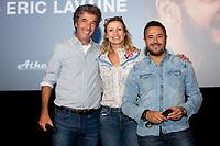 EXCLUSIF : Eric Lavaine, Alexandra Lamy et Jos&eacute; Garcia lors de l'avant-premi&egrave;re du film &quot; Chamboultout &quot; &agrave; l'UGC De Brouck&egrave;re, &agrave; Bruxelles.<br /> Belgique, Bruxelles, 22 mars 2019.<br /> EXCLUSIVE : French actress Alexandra Lamy, French actor Jos&eacute; Garcia and French director Eric Laverne attend the movie premiere of ' Chamboultout ' at the UGC De Brouck&egrave;re in Brussels.<br /> Belgium, Brussels, 22 March 2019.