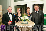 Aras Mhuire Black  Tie Ball: Pictured at the Black Tie Ball in aid of Aras Mhuire Nursing home. Listowel held in The Listowel Arms Hotel on Saturday night last were Dan & Mary Catherine Sheahan, Listowel & Peggy & Stephan Linnane, Asdee.