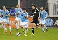 Washington D.C. - October 2, 2015: D.C. United defeated New York City FC  2-1 during a game of the 2015 Major League Soccer season at RFK Stadium.