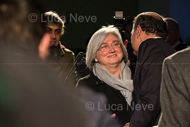 Rosy Bindi (President of the Democratic Party - PD).<br />