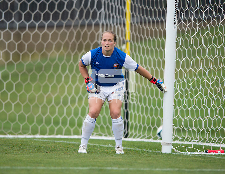 Robyn Jones.  The Charlotte Lady eagles defeated the Long Island Rough Riders, 4-0, to advance to the W-League Eastern Conference Championship.