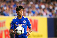 Paulo Ferreira (19) of Chelsea FC. Chelsea FC and Paris Saint-Germain played to a 1-1 tie during a 2012 Herbalife World Football Challenge match at Yankee Stadium in New York, NY, on July 22, 2012.