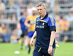 Donal Moloney, Clare joint manager, before the All-Ireland semi-final replay against Galway at Semple Stadium,Thurles. Photograph by John Kelly.