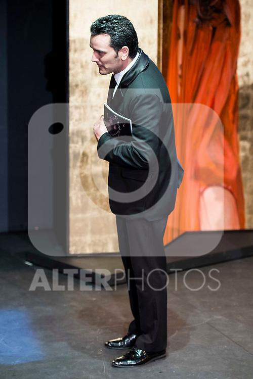 "Fran Calvo during the theater play of ""Addio del Passato"" at Fernan Gomez Theater in Madrid. March 15, 2017. (ALTERPHOTOS/Borja B.Hojas)"