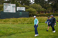 Emiliano Grillo (ARG) makes his way down 15 during round 1 of the 2019 US Open, Pebble Beach Golf Links, Monterrey, California, USA. 6/13/2019.<br /> Picture: Golffile | Ken Murray<br /> <br /> All photo usage must carry mandatory copyright credit (© Golffile | Ken Murray)