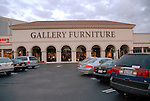 The new Gallery Furniture location at 2411 Post Oak  Wednesday March 11, 2009. (Dave Rossman/For the Chronicle)