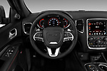 Car pictures of steering wheel view of a 2017 Dodge Durango R/T-RWD 5 Door SUV Steering Wheel