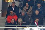 09.04.2014, Allianz Arena, Muenchen, GER, UEFA CL, FC Bayern Muenchen vs.  Manchester United FC, im Bild  Bastian Schweinsteiger (FCB #31)  felix heureuther dadrunter G&uuml;nther netzer mit frau Elvira<br /> <br />  Foto &copy; nordphoto / Straubmeier *** Local Caption ***