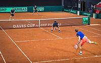 The Hague, The Netherlands, September 12, 2017,  Sportcampus , Davis Cup Netherlands - Chech Republic, Training Dutch team, <br /> Photo: Tennisimages/Henk Koster