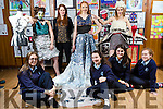 Presentation Secondary School, Castleisland Students preparing for final of Junk Kouture Southern regional finals at the university concert hall limerick on the 10th March Pictured Front l-r Mary Healy, Aine Barry, Moya Sheehan, Riosin Scanlon, Back l-r Siofr O'Connor,   Katie O'Reilly, Teacher, Ellie Daly, Heather Jones