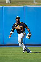Bethune-Cookman Wildcats left fielder Rakeem Quinn (2) during practice before a game against the Wisconsin-Milwaukee Panthers on February 26, 2016 at Chain of Lakes Stadium in Winter Haven, Florida.  Wisconsin-Milwaukee defeated Bethune-Cookman 11-0.  (Mike Janes/Four Seam Images)