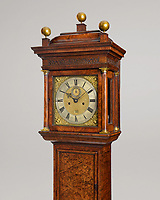 BNPS.co.uk (01202 558833)<br /> Pic: HowardWalwyn/BNPS<br /> <br /> Clock Shock...<br /> <br /> A previously unknown grandfather clock made by the renowned Thomas Tompion is tipped to sell for £275,000 after being found in an old townhouse.<br /> <br /> The 7ft tall longcase clock was spotted by a horologist stood in the dining room of the property where it had been for the last 40 years.<br /> <br /> It was identified as being made by 'England's greatest clockmaker' Tompion in 1694.