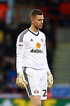 Robbin Ruiter of Sunderland during the Championship match at Bramall Lane Stadium, Sheffield. Picture date 26th December 2017. Picture credit should read: Simon Bellis/Sportimage