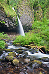 USA, OR, Columbia River Gorge, Ponytail Falls