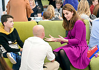 `5 November 2019 - Norwich, Norfolk - Kate Duchess of Cambridge, Catherine, Katherine Middleton during a visit to the Nook Children's Hospice. Photo Credit: ALPR/AdMedia