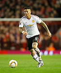 Marcos Rojo of Manchester United during the UEFA Europa League match at Anfield. Photo credit should read: Philip Oldham/Sportimage