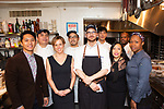 New York, NY - March 29, 2018:  Chef Joe Vigorito and his team from L'Artusi presents dinner at the James Beard House in Greenwich Village.<br /> <br /> CREDIT: Clay Williams for The James Beard Foundation.<br /> <br /> &copy; Clay Williams / http://claywilliamsphoto.com
