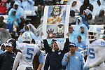 26 September 2015: UNC play calling card. The University of North Carolina Tar Heels hosted the University of Delaware Blue Hens at Kenan Memorial Stadium in Chapel Hill, North Carolina in a 2015 NCAA Division I College Football game. UNC won the game 41-14.