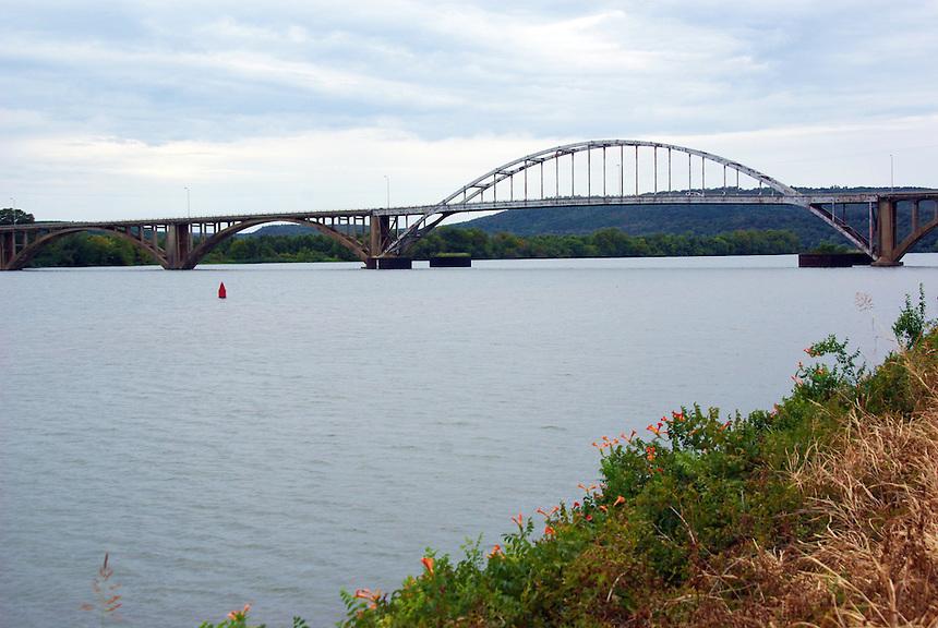 Arkansas River at Ozark, Arkansas