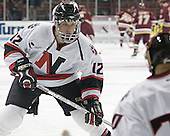 Dennis McCauley - The Boston College Eagles and Northeastern University Huskies tied at 1 on Saturday, October 22, 2005, at Matthews Arena in Boston, Massachusetts.