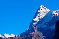The Eiger, Swiss Alps, Canton Bern, Switzerland