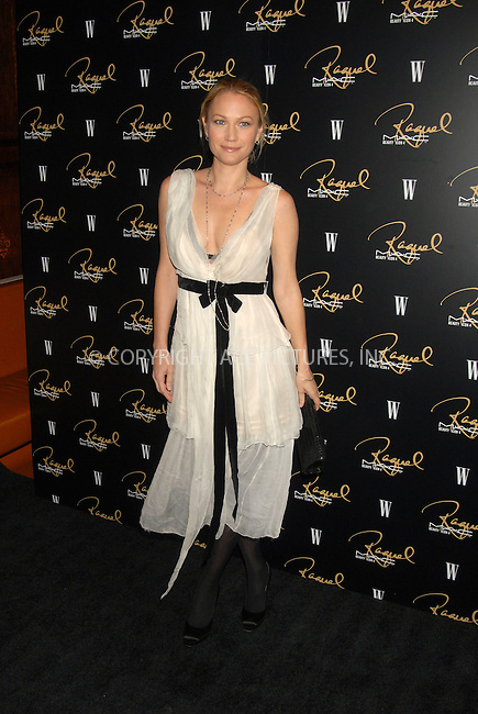 WWW.ACEPIXS.COM . . . . . ....January 17, 2007, New York City.....Sarah Wynter attends the MAC Cosmetics celebration to honor Raquel Welch as a Beauty Icon at Gilt the New York Palace Hotel.....Please byline: KRISTIN CALLAHAN - ACEPIXS.COM.. . . . . . ..Ace Pictures, Inc:  ..(212) 243-8787 or (646) 679 0430..e-mail: picturedesk@acepixs.com..web: http://www.acepixs.com