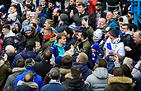 Leeds United's Patrick Bamford arrives at the ground<br /> <br /> Photographer Chris Vaughan/CameraSport<br /> <br /> The EFL Sky Bet Championship - Leeds United v Sheffield Wednesday - Saturday 11th January 2020 - Elland Road - Leeds<br /> <br /> World Copyright © 2020 CameraSport. All rights reserved. 43 Linden Ave. Countesthorpe. Leicester. England. LE8 5PG - Tel: +44 (0) 116 277 4147 - admin@camerasport.com - www.camerasport.com