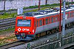 Transporte em trem da CPTM. Companhia Paulista de Trens Metropolitanos. Sao Paulo. 2015. Foto de Juca Martins.