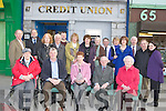 Castleisland Credit union original members with current staff celebrate the 30th anniversary of it's opening in their offices on Friday, a presentation was made to Castleisland Library which was the original offices for the Credit Union front row l-r: Agnes Twomey, Peter Pearse, Eileen Murphy Castleisland Library, Ted Kennelly, Anne Courtney. Back row: David Costello, Dick Carmody, Maura Hickey, Tom Lawlor, Mike Brosnan, Margaret O'Connor, Kathleen Lenihan, Mary Cotter, Derry Fleming, Ann Brosnan, Mary O'Connell, Ivan, Kevin Geary and Suzanne