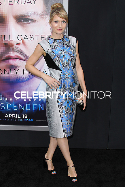 "WESTWOOD, LOS ANGELES, CA, USA - APRIL 10: Annie Marter at the Los Angeles Premiere Of Warner Bros. Pictures And Alcon Entertainment's ""Transcendence"" held at Regency Village Theatre on April 10, 2014 in Westwood, Los Angeles, California, United States. (Photo by Xavier Collin/Celebrity Monitor)"