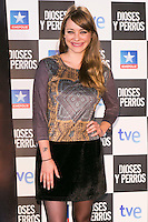 "Miriam Benoit attends the ""DIOSES Y PERROS "" Movie presentation at Kinepolis Cinema in Madrid, Spain. October 6, 2014. (ALTERPHOTOS/Carlos Dafonte) /nortephoto.com"