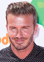 WESTWOOD, LOS ANGELES, CA, USA - JULY 17: David Beckham arrives at the Nickelodeon Kids' Choice Sports Awards 2014 held at UCLA's Pauley Pavilion on July 17, 2014 in Westwood, Los Angeles, California, United States. (Photo by Xavier Collin/Celebrity Monitor)