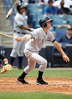April 3, 2010:  Second Baseman Corban Joseph of the New York Yankees playing in the annual Futures Game during Spring Training at Legends Field in Tampa, Florida.  Photo By Mike Janes/Four Seam Images