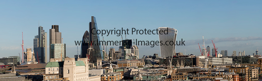 Daylight panoramic viws of London