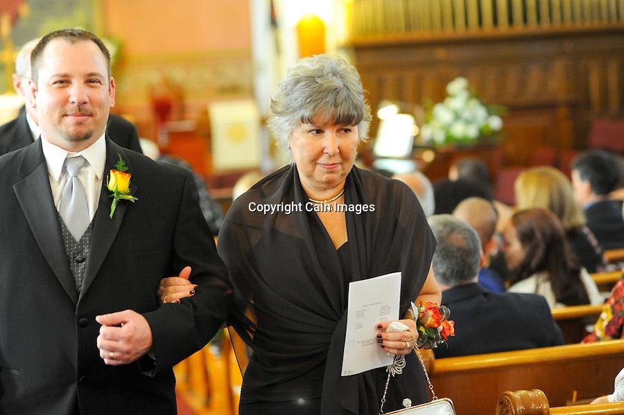 NAZARETH, PA: Trisha & Paul -- October 9, 2010 -- Photo by William Thomas Cain/Cain Images
