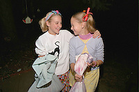 Halloween trick and treaters age 12  looking for the candy!  St Paul Minnesota USA