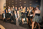 Producer Siobhan O'Neil, co-creator/producer Shane Scheel and co-creator/director Anderson Davis and the CAST of BAZ  attend the opening celebration of 'BAZ - Star Crossed Love' at The Palazzo Las Vegas on July 12, 2016 in Las Vegas, Nevada.