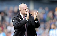 Burnley manager Sean Dyche <br /> <br /> Photographer Rich Linley/CameraSport<br /> <br /> The Premier League - Burnley v Huddersfield Town - Saturday 6th October 2018 - Turf Moor - Burnley<br /> <br /> World Copyright &copy; 2018 CameraSport. All rights reserved. 43 Linden Ave. Countesthorpe. Leicester. England. LE8 5PG - Tel: +44 (0) 116 277 4147 - admin@camerasport.com - www.camerasport.com