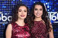 Sarah and Laura Ayoub (The Ayoub Sisters)<br /> arriving for the Global Awards 2018 at the Apollo Hammersmith, London<br /> <br /> ©Ash Knotek  D3384  01/03/2018