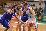 Basketball Champions League 2017/18 - Previus.<br /> Divina Seguros Joventut vs Dinamo Tbilisi: 86-66.<br /> Illia Londaridze vs Nenad Dimitrijevic.