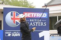 Tommy Fleetwood (ENG) during the Hero Pro-am at the Betfred British Masters, Hillside Golf Club, Lancashire, England. 08/05/2019.<br /> Picture Fran Caffrey / Golffile.ie<br /> <br /> All photo usage must carry mandatory copyright credit (&copy; Golffile | Fran Caffrey)