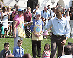 U.S. President Barack Obama participates in the 2011 White House Easter Egg Roll in Washington D.C. April 25, 2011. .Copyright EML/Rockinexposures.com.
