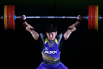 Toshiki Yamamoto, <br /> MAY 22, 2016 - Weightlifting : <br /> All Japan Weightlifting Championship 2016 Men's -85kg <br /> at Yamanashi Municipal Gymnasium, Yamanashi, Japan. <br /> (Photo by AFLO SPORT)