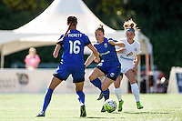 Seattle, WA - Sunday, May 01, 2016: Seattle Reign FC forward Beverly Yanez (17) during a National Women's Soccer League (NWSL) match at Memorial Stadium.