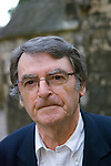 David Lodge at Christ Church during the Sunday Times Oxford Literary Festival, UK, 2-10 April 2011. <br />