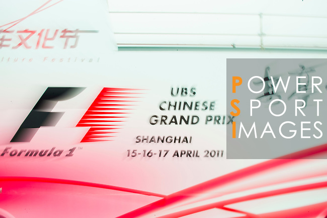 Day 1 of the UBS Chinese Grand Prix on 15th April 2011. Photo by Alberto Lessmann / The Power of Sport Images for UBS