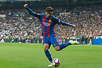 Andre Gomes of FC Barcelona during the match of La Liga between Real Madrid and Futbol Club Barcelona at Santiago Bernabeu Stadium  in Madrid, Spain. April 23, 2017. (ALTERPHOTOS)