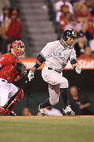 05/29/12 Anaheim, CA: New York Yankees center fielder Curtis Granderson #14 during an MLB game played between the New York Yankees and the Los Angeles Angels at Angel Stadium. The Angels defeated the Yankees 5-1.