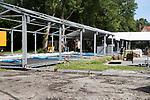AMSTELVEEN ; Opbouw promodorp  voor het Europees Kampioenschap. FOTO KOEN SUYK