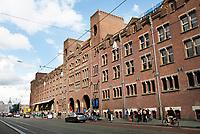 Nederland Amsterdam 2017. De Beurs van Berlage aan het Damrak. Foto Berlinda van Dam / Hollandse Hoogte